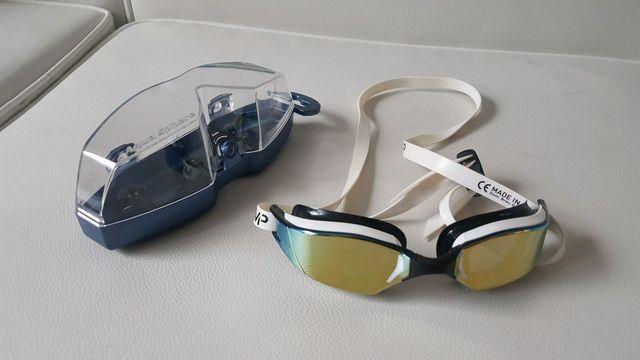 แว่นตาว่ายน้ำ micheal Phelps mirror lens